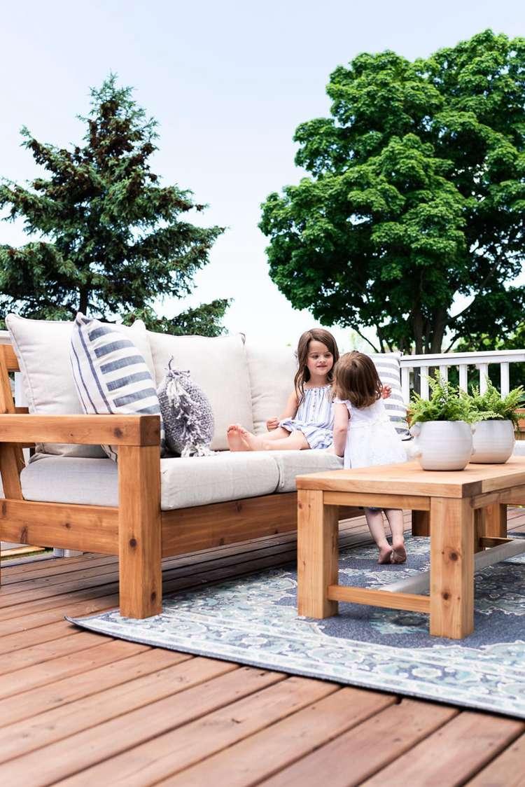 7. Outdoor Sofa DIY Plans
