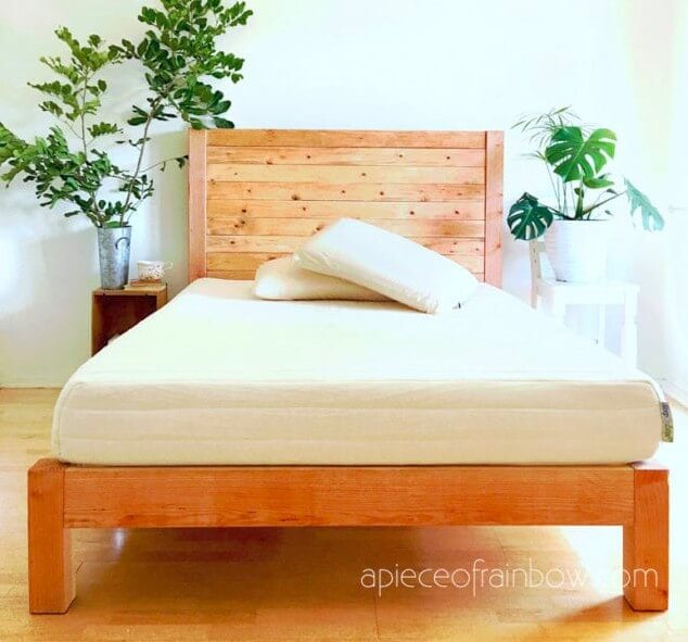 8. DIY Bed Frame Twin