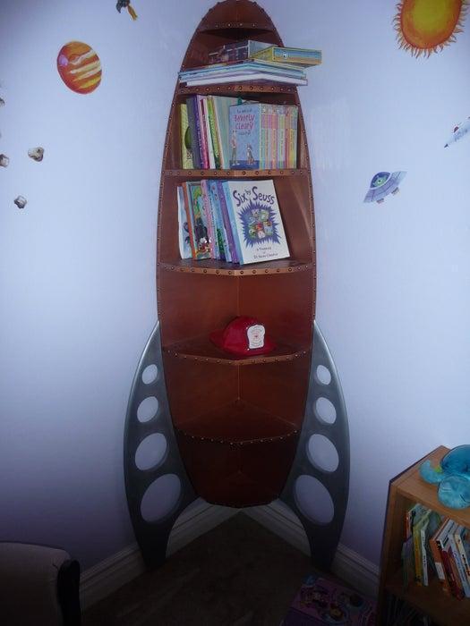 8. DIY Corner Rope Shelves