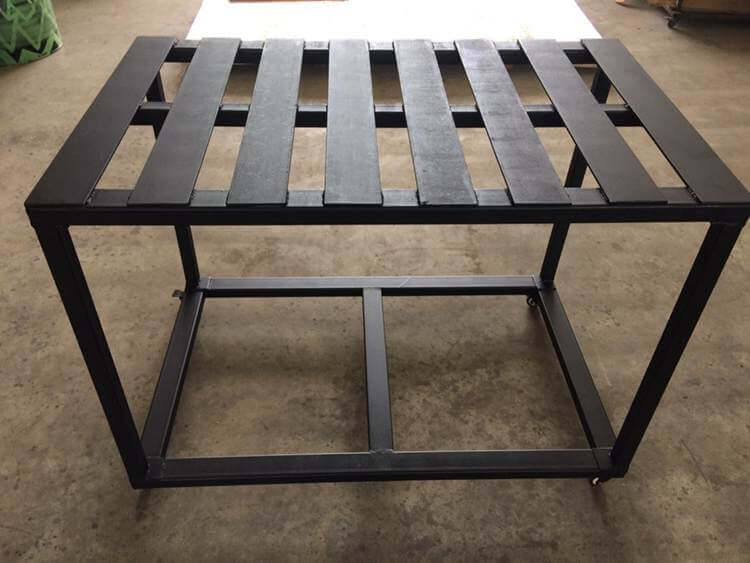 8. DIY Welding Table