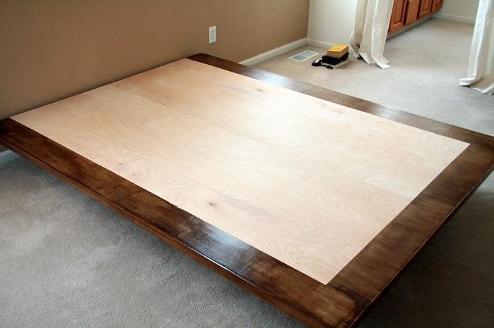 8. How To Make A Floating Platform Bed