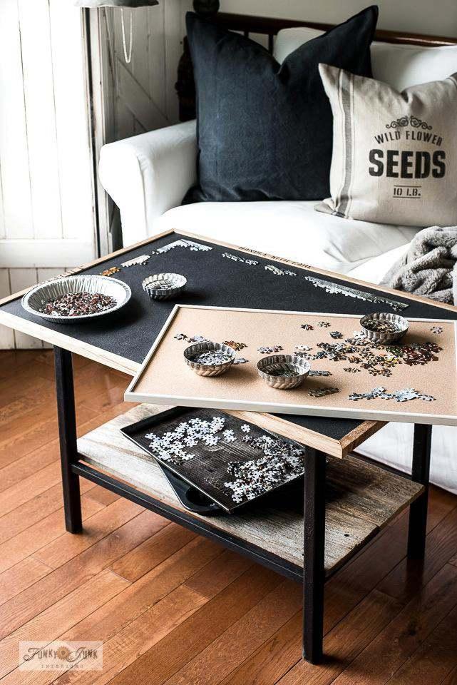 9. DIY Puzzle Board