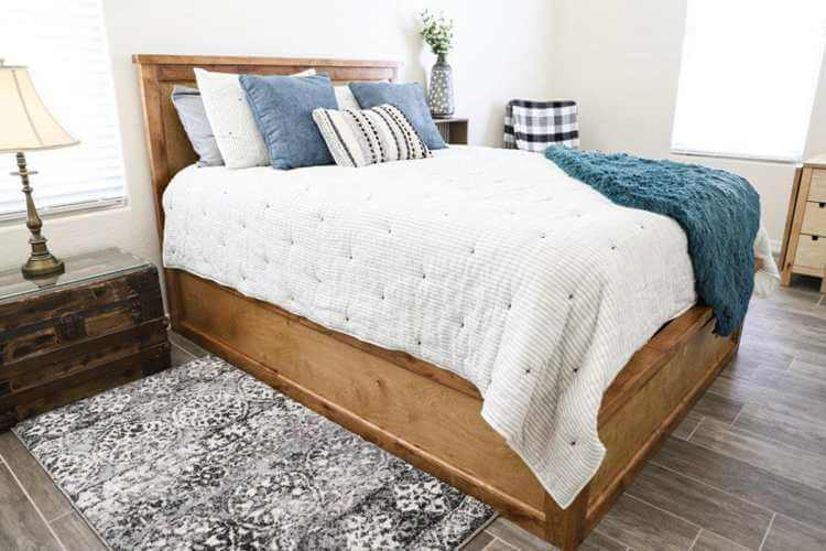 9. How To Build A Queen Size Storage Bed