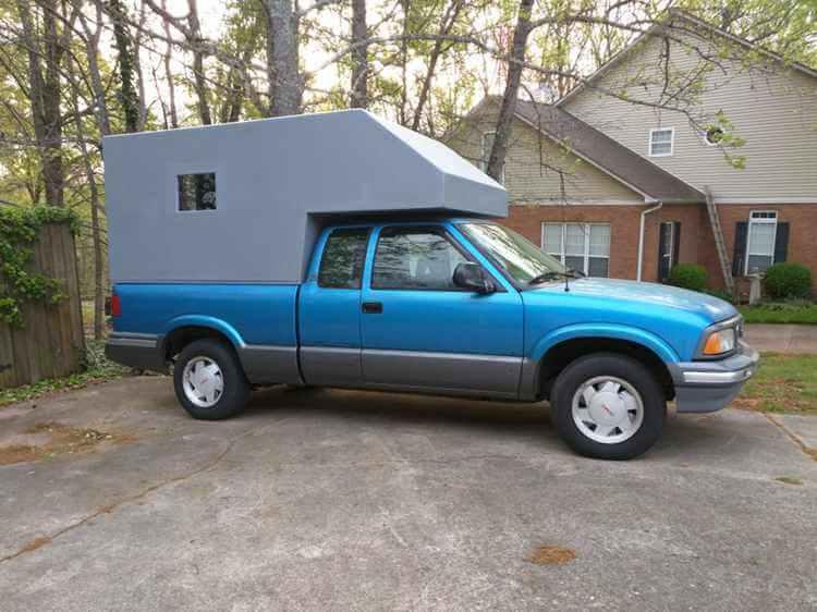 9. Instructables Cab-over Camper for pickup