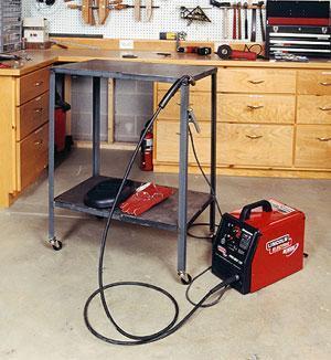 9. Metal Welding Table Plans DIY