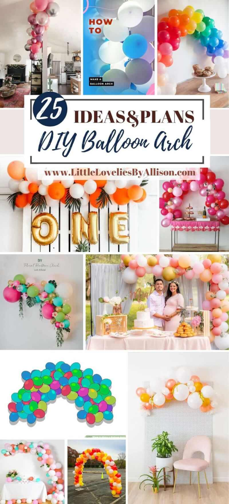 Best DIY Balloon Arch Ideas