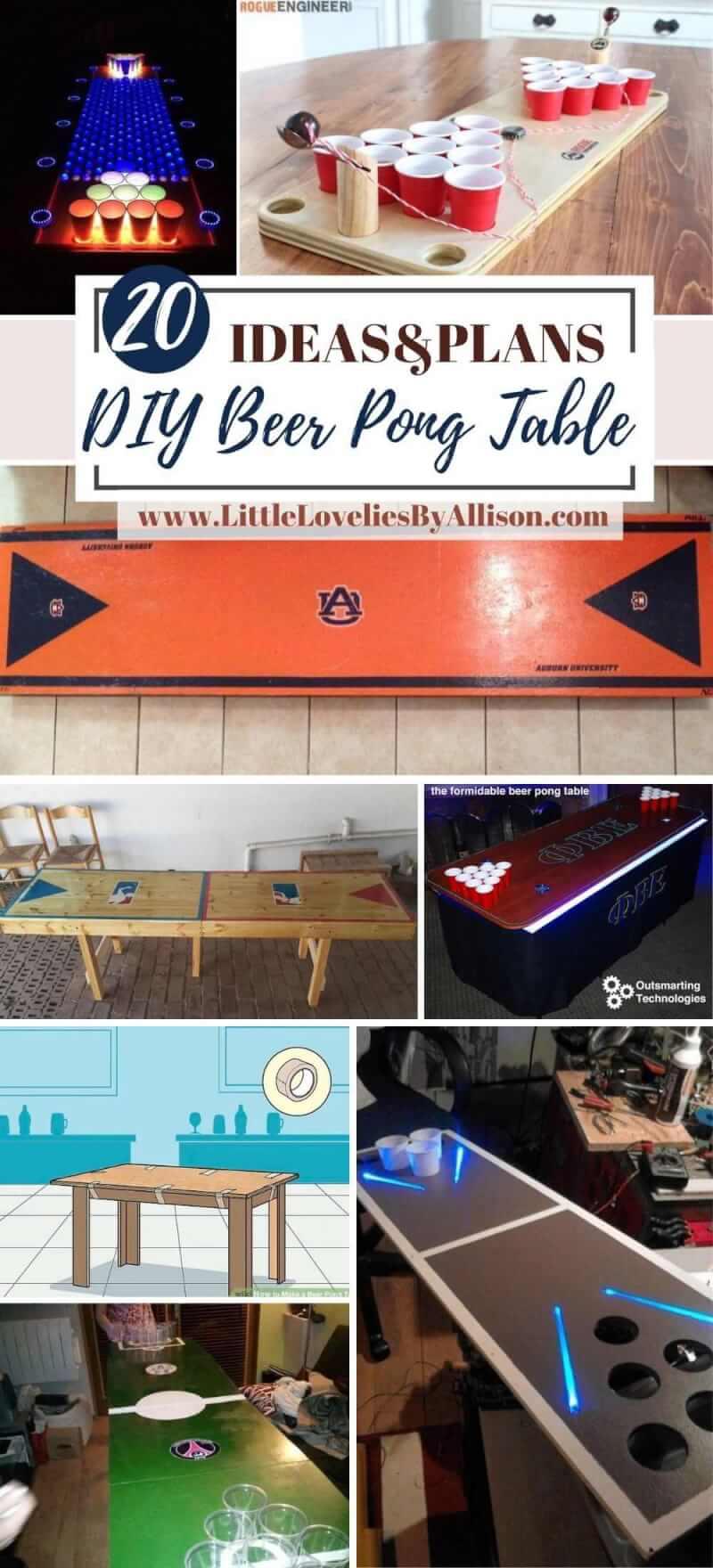 Best DIY Beer Pong Table