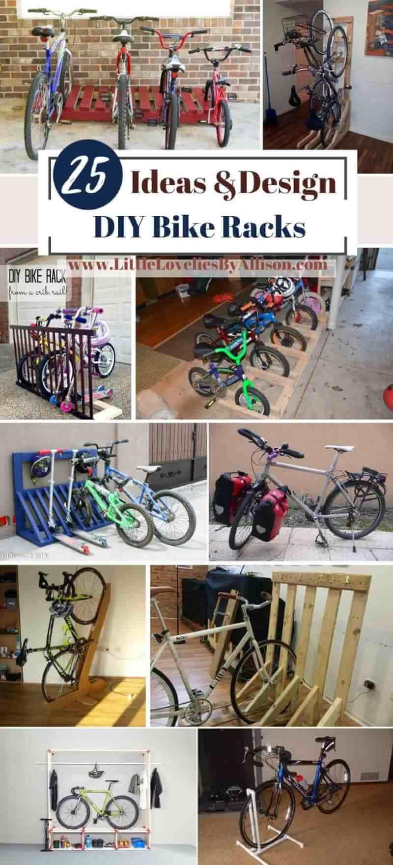 Best DIY Bike Racks