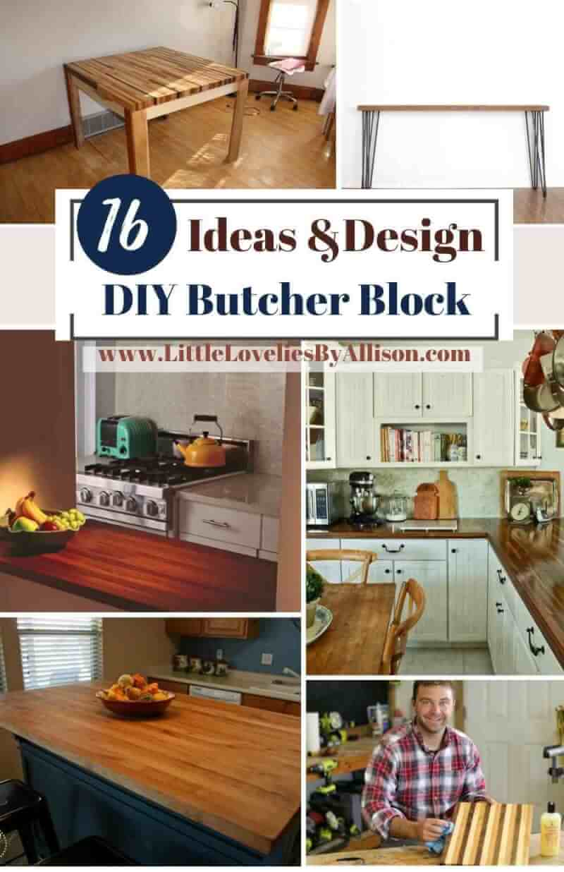 Best DIY Butcher Block