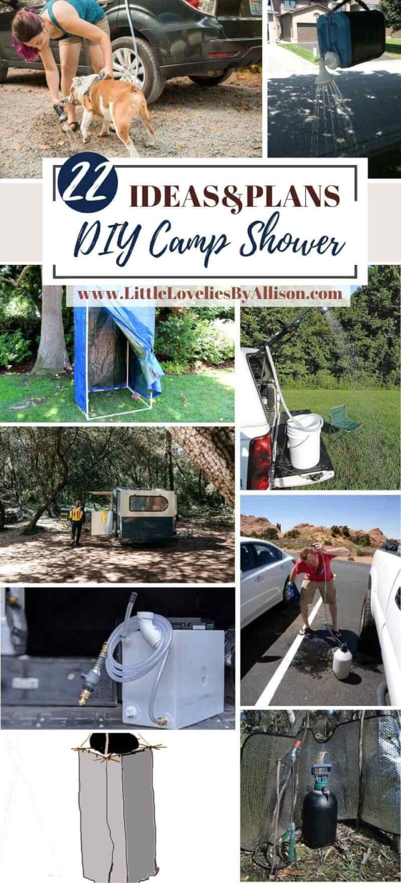 Best DIY Camp Shower