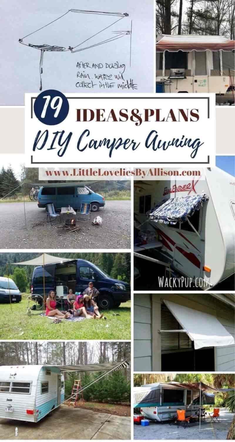 Best DIY Camper Awning