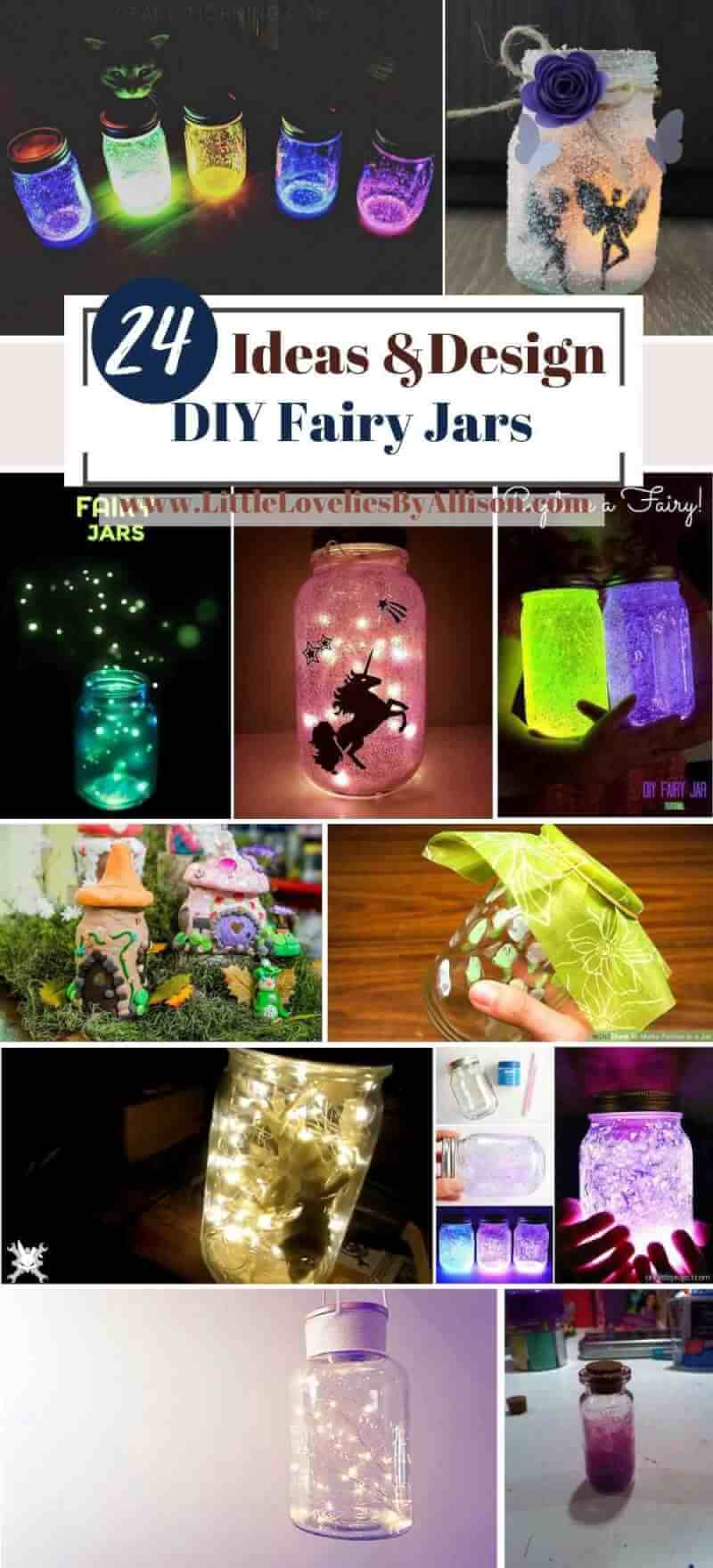 Best DIY Fairy Jars Ideas