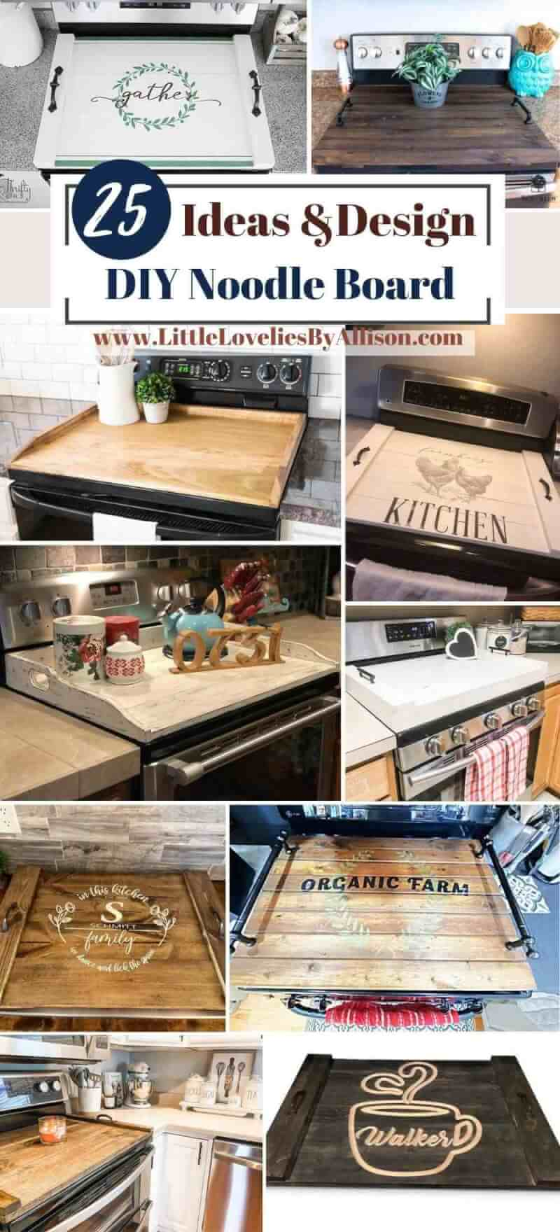 Best DIY Noodle Board Projects