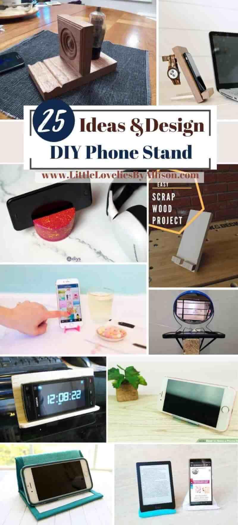 Best DIY Phone Stand