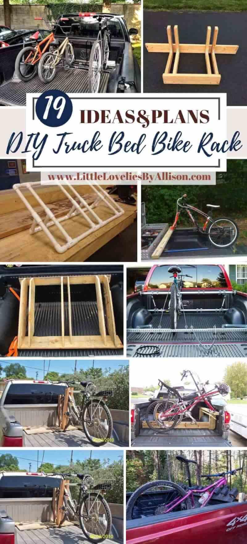 Best DIY Truck Bed Bike Rack