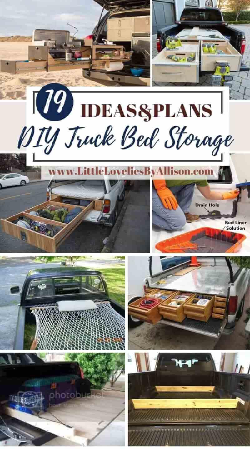 Best DIY Truck Bed Storage