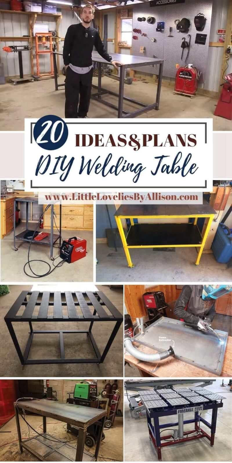 Best DIY Welding Table Plans