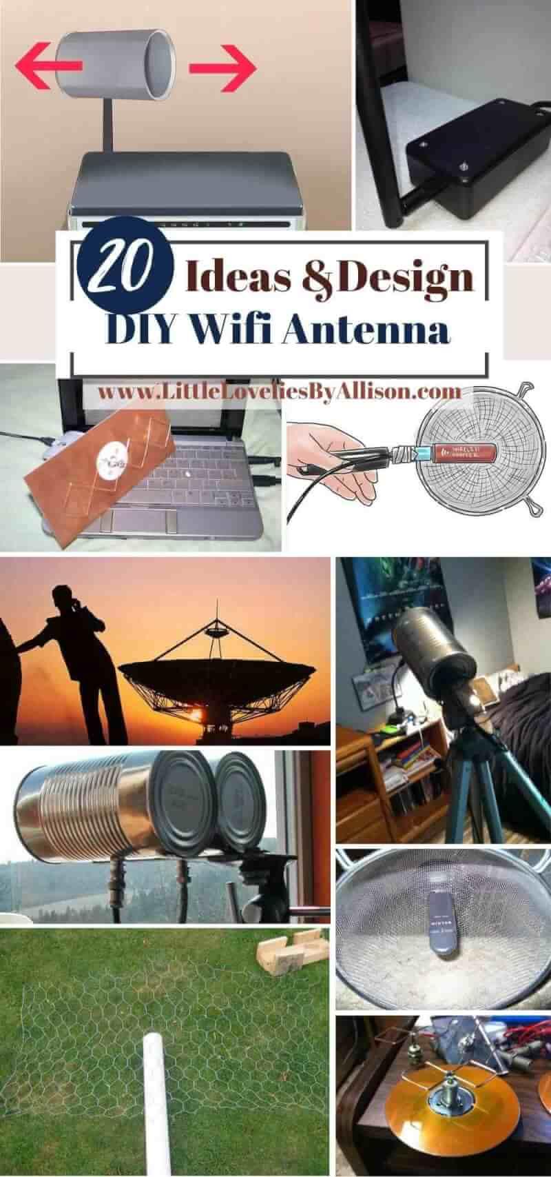 Best DIY Wifi Antenna Ideas