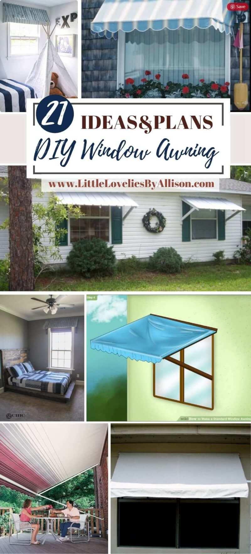 Best DIY Window Awning