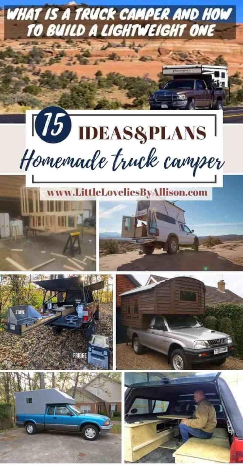 Best Homemade truck camper