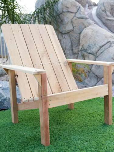 DIY Adirondack Chair Plans