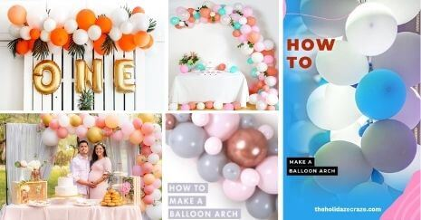 DIY Balloon Arch Ideas