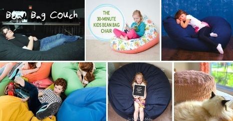 DIY Bean Bag Chair Ideas