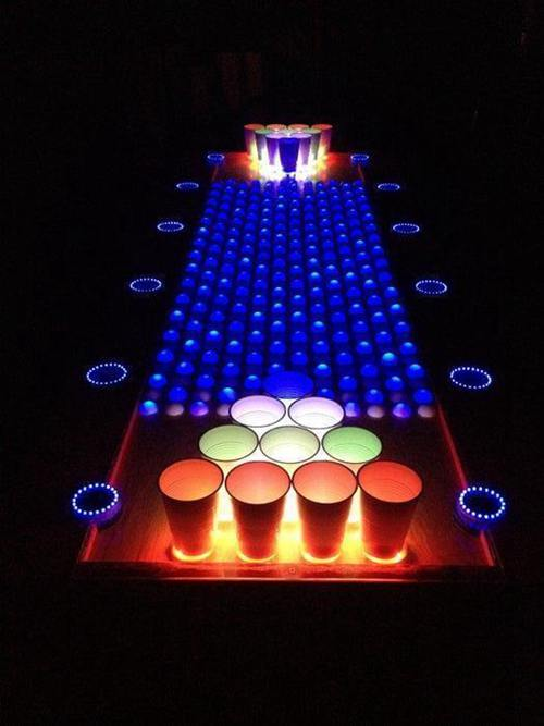 DIY Beer Pong Table Plans