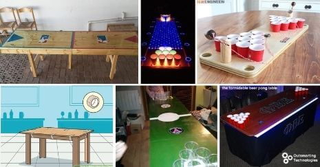 DIY Beer Pong Table