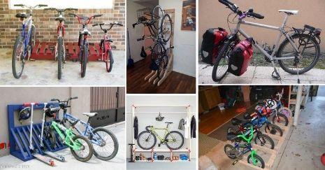 DIY Bike Racks
