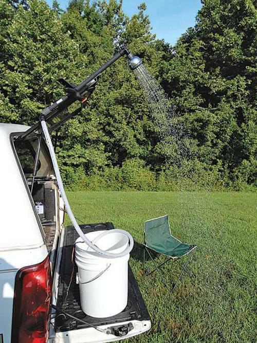 DIY Camp Shower Plans