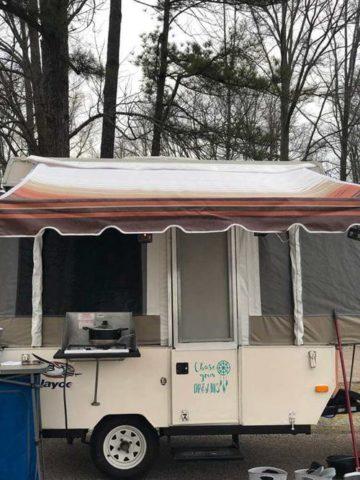 DIY Camper Awning