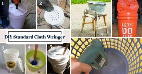 DIY Clothes Wringer