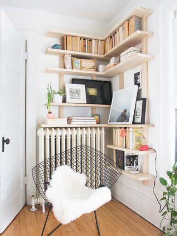 DIY Corner Shelf Ideas