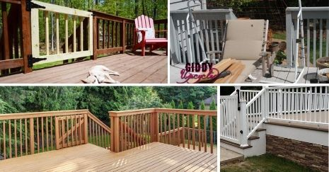 DIY Deck Gate Plans
