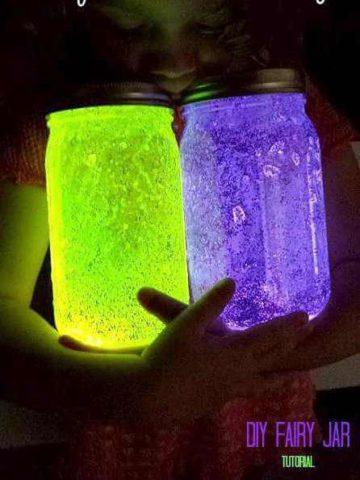 DIY Fairy Jars Ideas