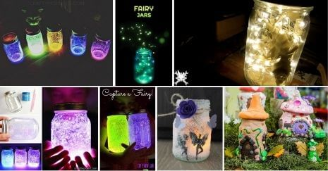 DIY Fairy Jars Ideas