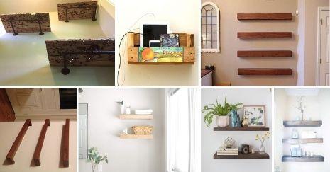 DIY Floating Shelves Ideas