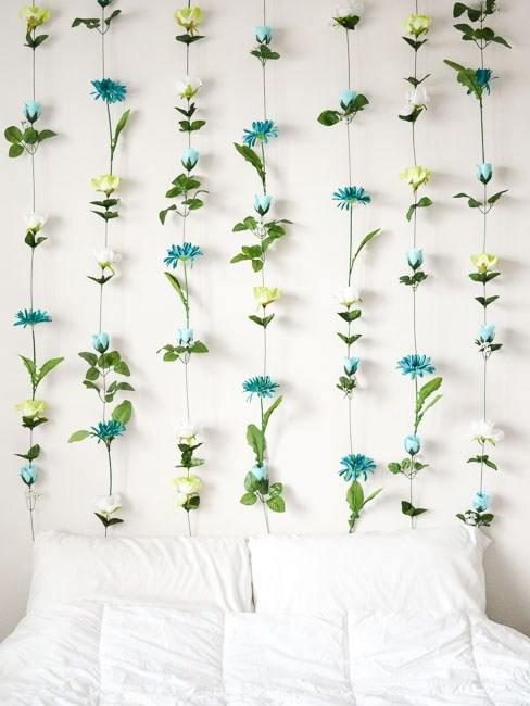 DIY Flower Wall Ideas