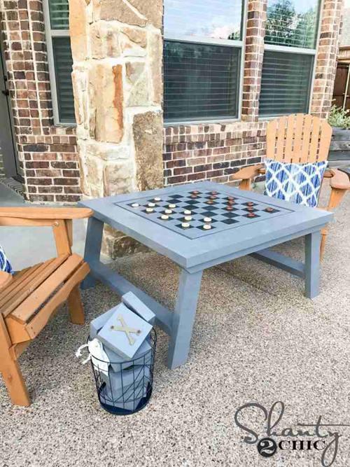 DIY Gaming Table Plans