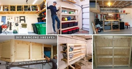 DIY Garage Shelf Plans