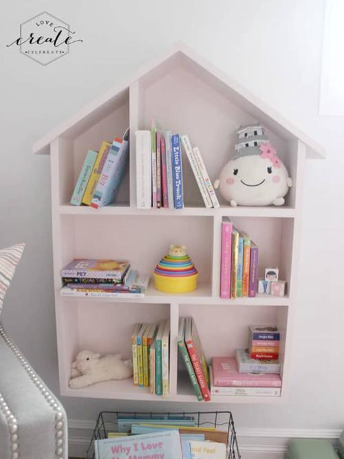 DIY Kids Bookshelf Plans