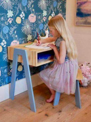 DIY Kids Desk Plans
