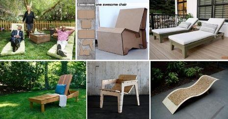 DIY Lounge Chair