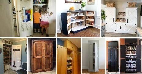 DIY Pantry Cabinet Plans