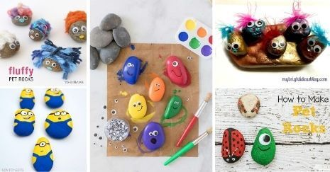 DIY Pet Rocks