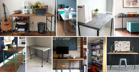 DIY Pipe Desk Ideas
