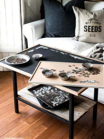 DIY Puzzle Boards Ideas