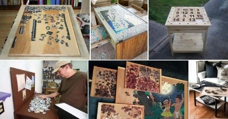 DIY Puzzle Boards Ideas