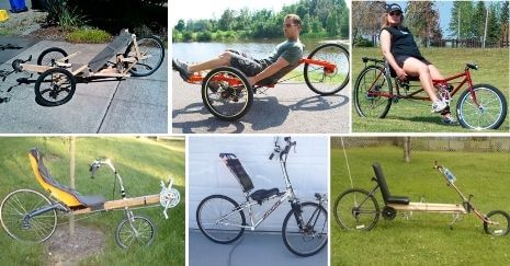 DIY Recumbent Bike
